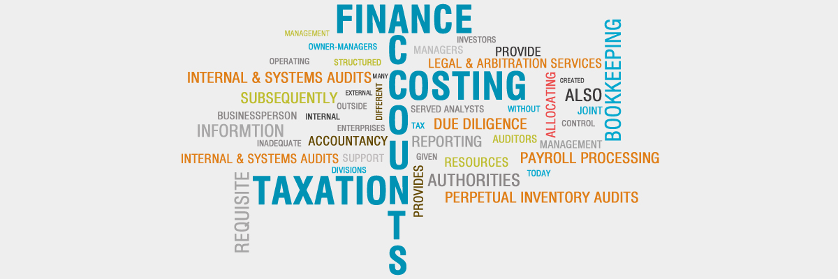 Finance, Accounting, Costing, GST and Taxation Solutions
