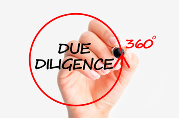 Due Diligence before M&A